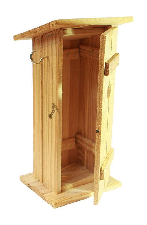 holz wc h uschen geschlitz ed werbung de dunay werbemittel tel 49 9928 1481. Black Bedroom Furniture Sets. Home Design Ideas