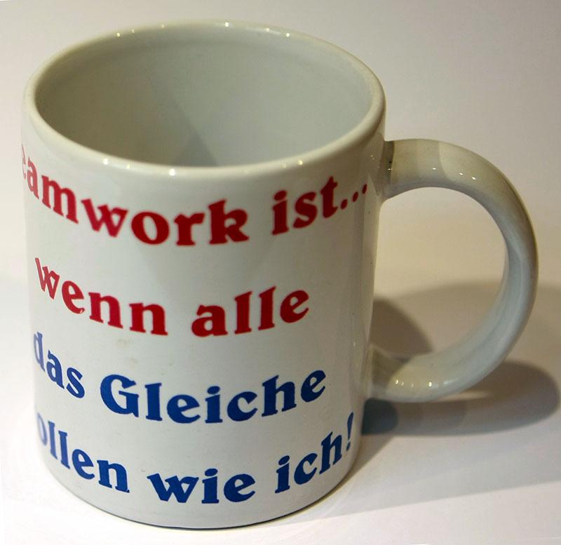 lustige sprüche tasse 18x Kaffe Tasse Lustige Witz Sprüche Teamwork   ED WERBUNG.DE  lustige sprüche tasse